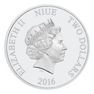 2016 Disney Pixar Finding Dory Coin Set Niue Elisabeth II 1oz silver coins Back
