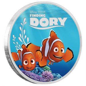 Dory 2016 Disney Pixar Finding Dory Coin Set Niue Elisabeth II 1oz silver coin