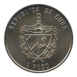 Fauna del caribe 1 Peso 1994