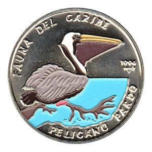 Fauna del caribe Pelicano Pardo 1994
