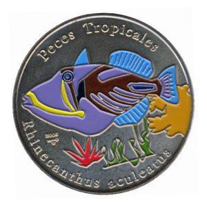 Fauna del caribe Rhinecanthus aculeatus 2005