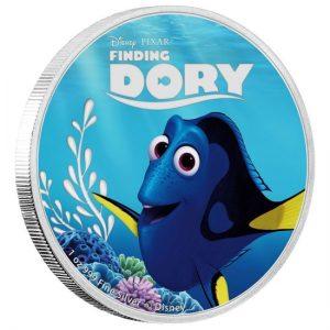 Marlin 2016 Disney Pixar Finding Dory Coin Set Niue Elisabeth II 1oz silver coin