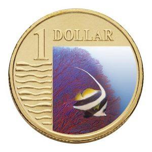 Longfin Bannerfish Australian Ocean Series 1$ 2007